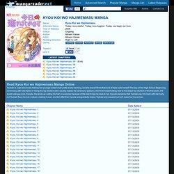 Kyou Koi wo Hajimemasu Manga - Read Kyou Koi wo Hajimemasu Online For Free