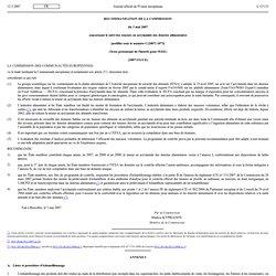 JOUE 11/05/07 Recommandation de la Commission du 3 mai 2007 concernant le suivi des teneurs en acrylamide des denrées alimentair