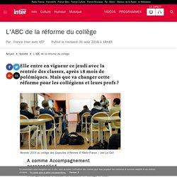 L'ABC de la réforme du collège