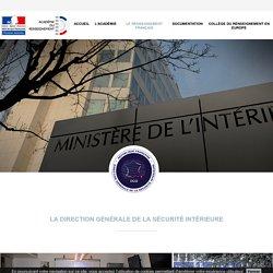 L'académie du renseignement - DGSI
