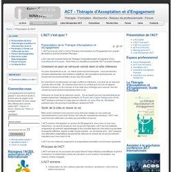 L'ACT c'est quoi ?