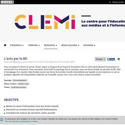 L'actu par la BD- CLEMI