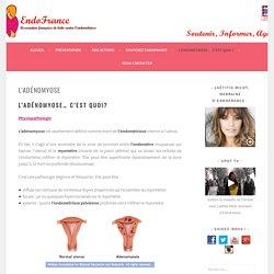 L'adénomyose - ENDOFRANCE
