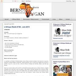 L'Afrique Réelle N°66 - Juin 2015