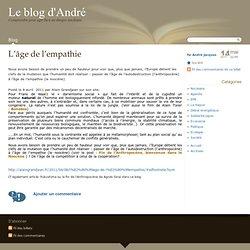 L'âge de l'empathie - Le blog d'André