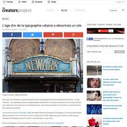 L'age d'or de la typographie urbaine a désormais un site