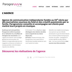 L'agence – paragramme