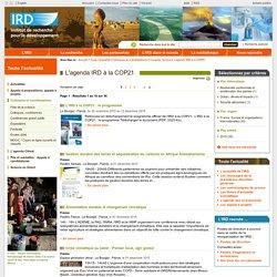 L'agenda IRD à la COP21