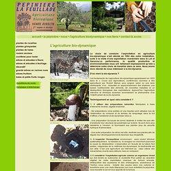L'agriculture bio-dynamique