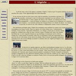 Hélie de Saint Marc : L'Algérie
