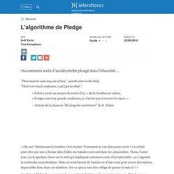 L'algorithme de Pledge