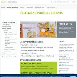 L'allemand pour les enfants - Goethe-Institut Frankreich