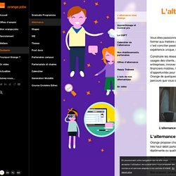L'alternance chez Orange - Alternance - Orange Jobs