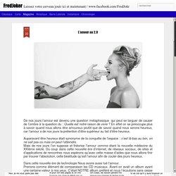 FredJoker: L'amour au 2.0