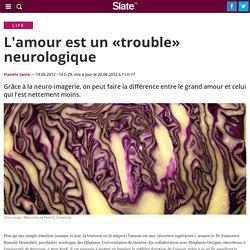 L'amour est un «trouble» neurologique