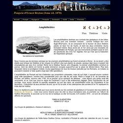 L'amphithéâtre de Pompéi