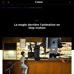 L'animation en stop motion