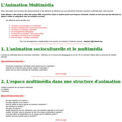 L'Animation Multimedia