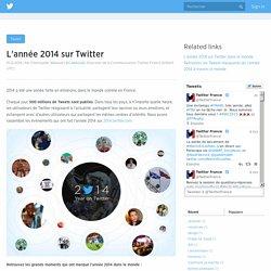 L'année 2014 sur Twitter