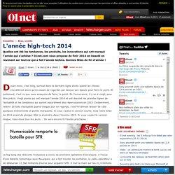L'année high-tech 2014