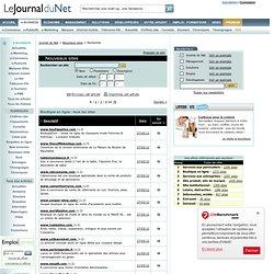 L'annuaire des nouveaux sites web