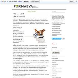 L'API de Formaeva