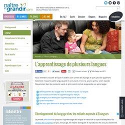 L'apprentissage de plusieurs langues