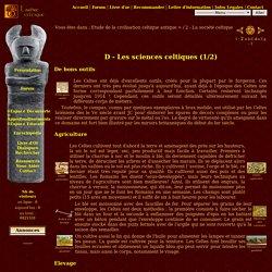 1 : Les sciences celtiques