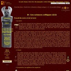 2 : Les sciences celtiques