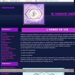 L'ARBRE DE VIE - léonorah