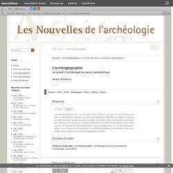 L'archéogéographie