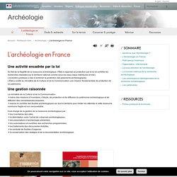 L'archéologie en France - Archéologie