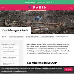 L'archéologie à Paris