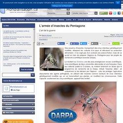 Info 10 : L'armée d'insectes du Pentagone