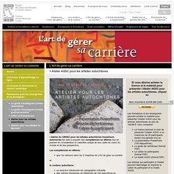 L'art de gérer sa carrière pour les artistes autochtones - Conseil des ressources humaines du secteur culturel (CRHSC)