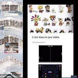 L'Art dans le jeu vidéo