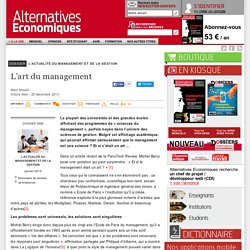 L'art du management