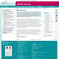 L'Art Nouveau - Histoire des arts