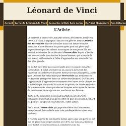 L'Artiste - Léonard de Vinci