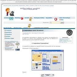 L'aspirateur avec Scratch2