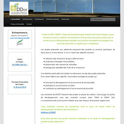 DDIDF, les 1ers Business Angels du Developpement Durable