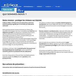 L'association e-Enfance
