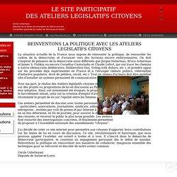 L'Atelier Legislatif Citoyen