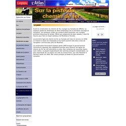 L'Atlas du Canada en ligne: le chemin de fer