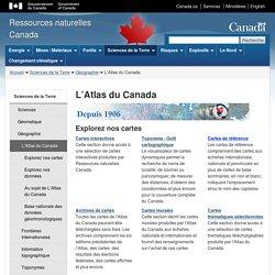 L'Atlas du Canada