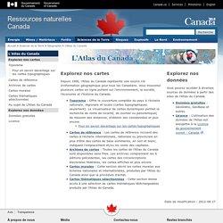 Atlas du Canada - Accueil