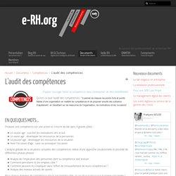 L'audit des compétences