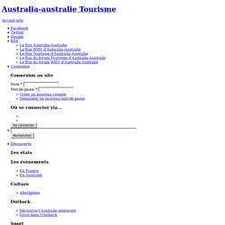 L'Australie en France