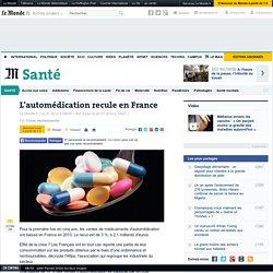 L'automédication recule en France