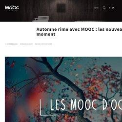 L'automne rime avec MOOC